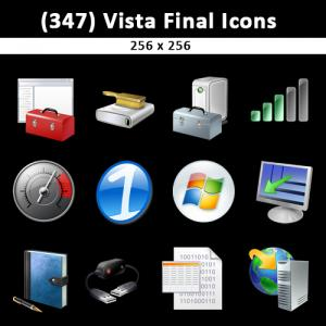 All Vista Final Icons Free