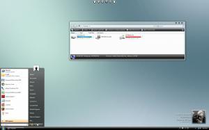 Windows Vista Black Glass Theme