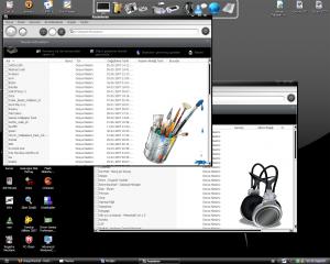 Windows Vista Black Mod Theme