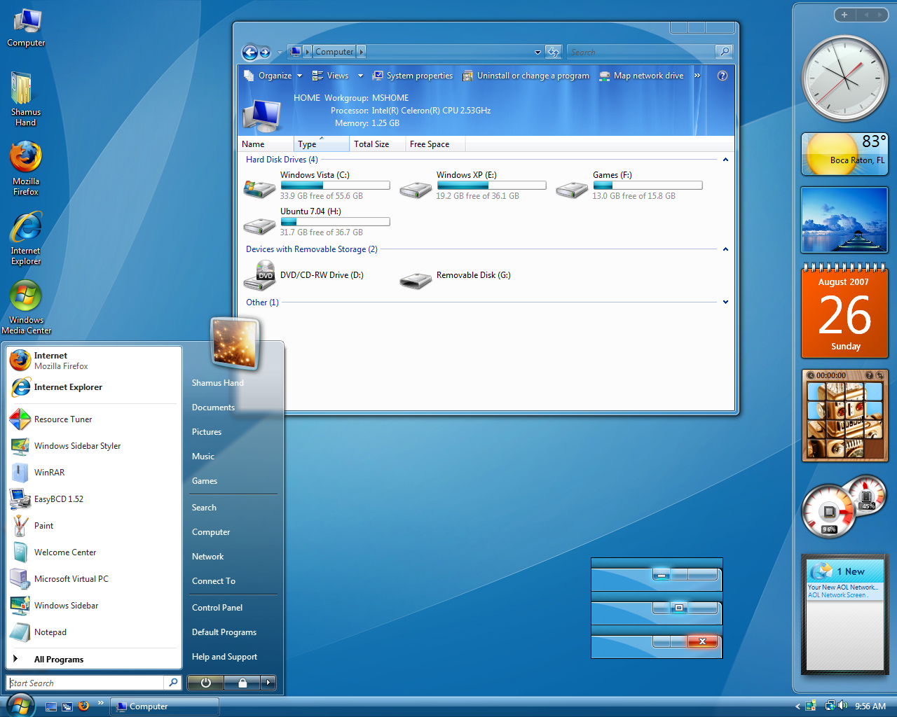 Download Vista Indigo Theme