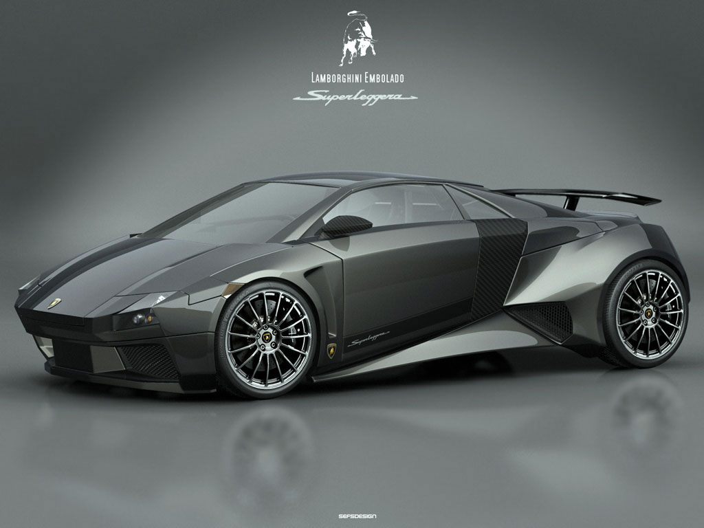 Lamborghini Embolado Concept Wallpaper - Free Download
