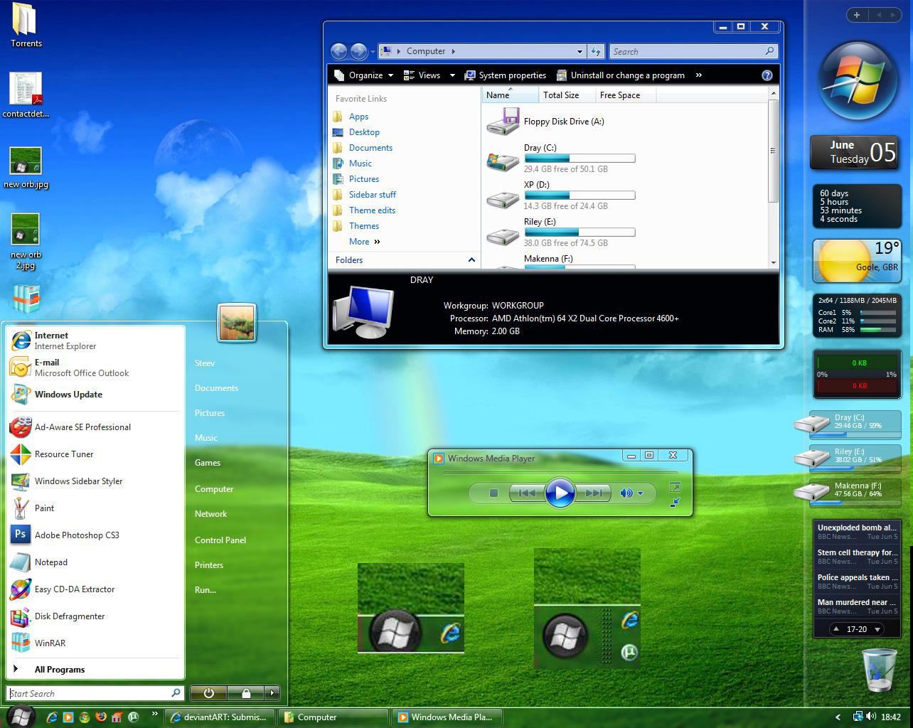 windows vista maxclear 31 theme