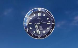 Omega Seamaster Blue Sidebar