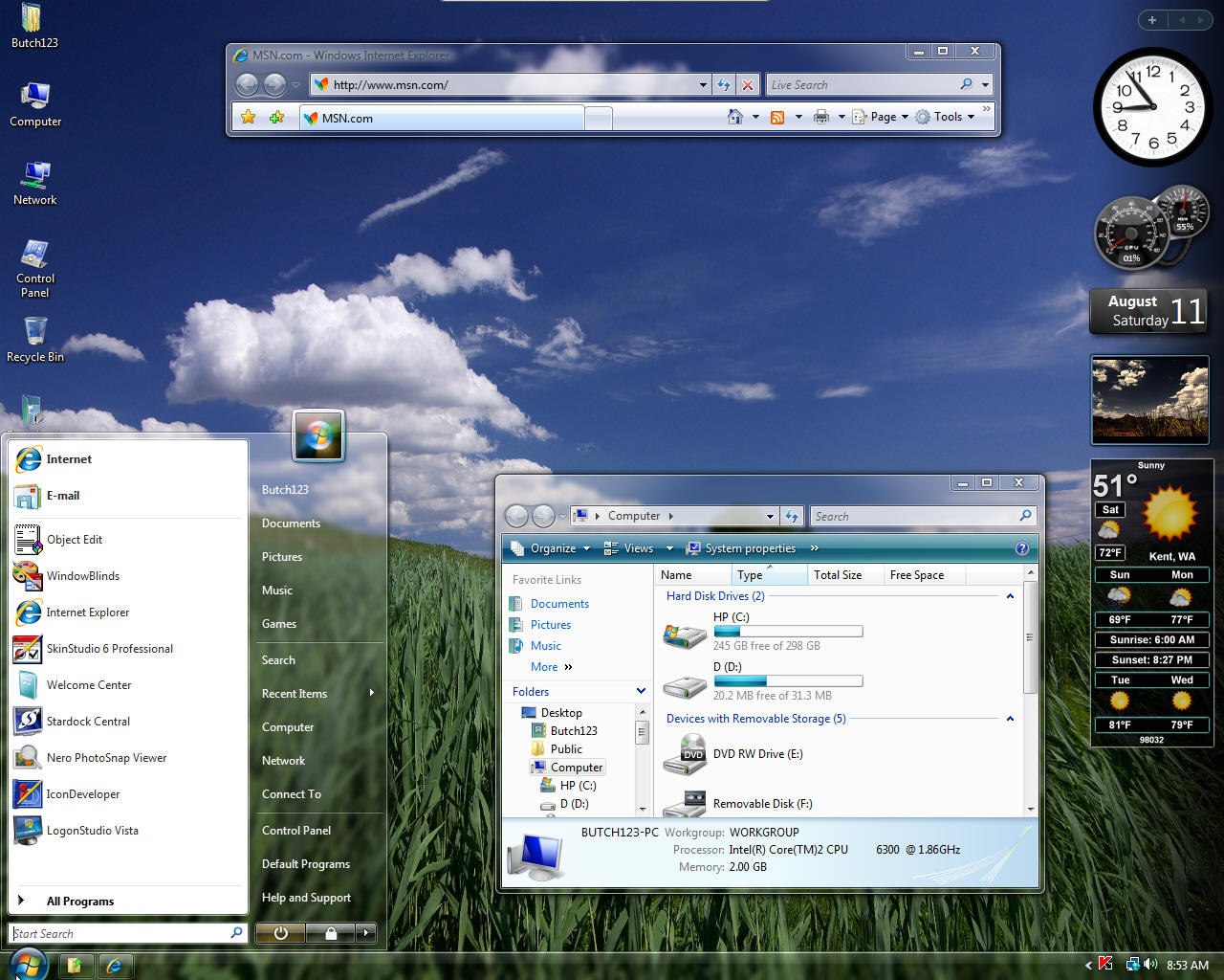 vista themes free windows vista themespanorama theme free download