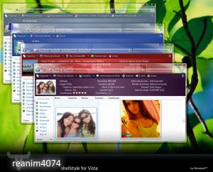Windows Vista Shellstyle Theme
