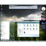 Windows Vista VistaGlass 2 Light Blue Theme