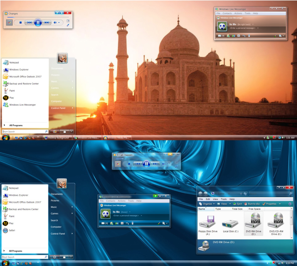vista themes free windows vista themesultimateclear theme free