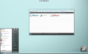Windows Vista Vertical Theme