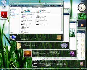 Windows Vista Green Style Theme