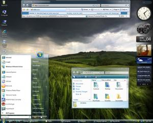 Windows Vista Glass Theme